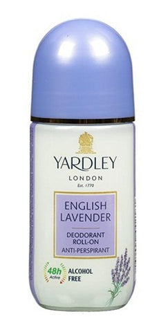 Yardley London English Lavender Deodorant Roll Ons Alcohol Free 50ML for Women