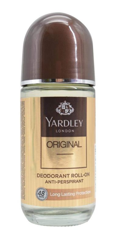 YARDLEY LONDON - Buy Yardley London Orignal Deo Roll On Alcohol Free 50ML Online in India.