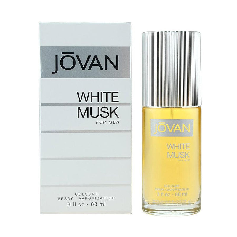 Shop Jovan White Musk Eau de Cologne for Men 88ML