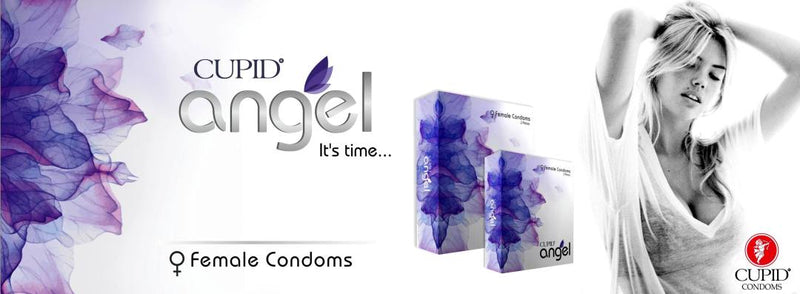 Cupid Angel Female Condom 2PCS with Discreet Packaging