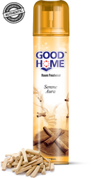 GOOD HOME Air Freshener - Buy Good Home Serene Aura Sandal Room Freshener 160GM Online in India.