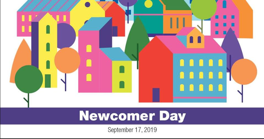 Newcomer Day in Cambridge- September 17th, 2019
