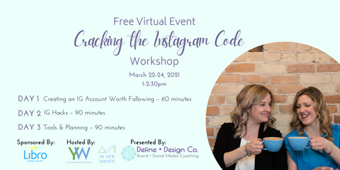 Cracking the Instagram Code - a collaborative virtual workshop