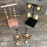 Pearls Are Always Appropriate Earring Set (3) -  In Her Shoes YW