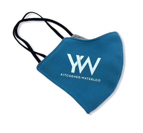 YW Logo Non Medical Washable Fabric Face Mask -  In Her Shoes YW