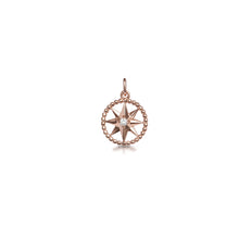 Crystal star charm pendant choker on 14 inch chain