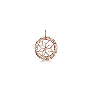 Flower Cut Out Pendant