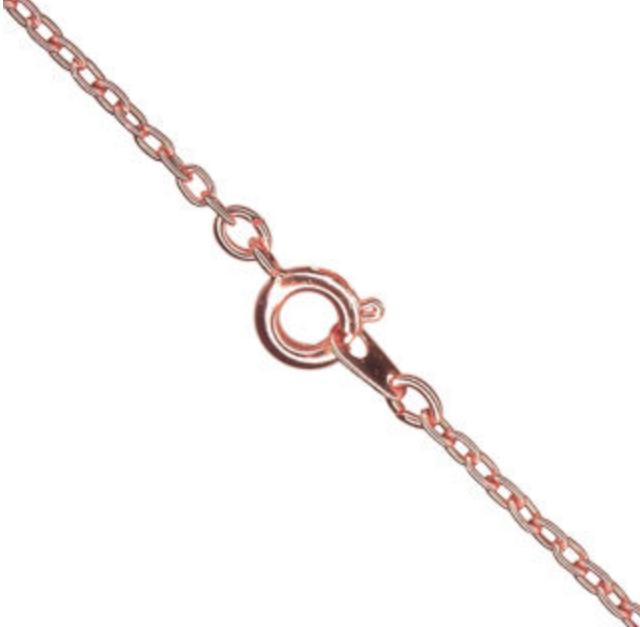 Rose Gold Filled Fine Trace Chain