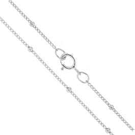 Sterling Silver Satellite Chain