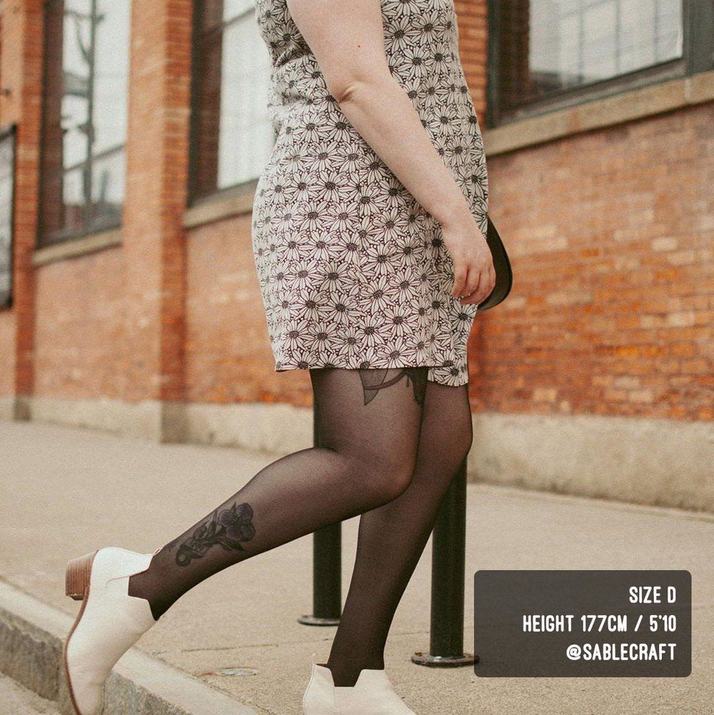 Tights - 30 Denier Sheer Tights  - Liquorice