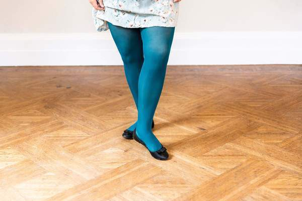 Tights - 50 Denier Tights - Blueberry Muffin