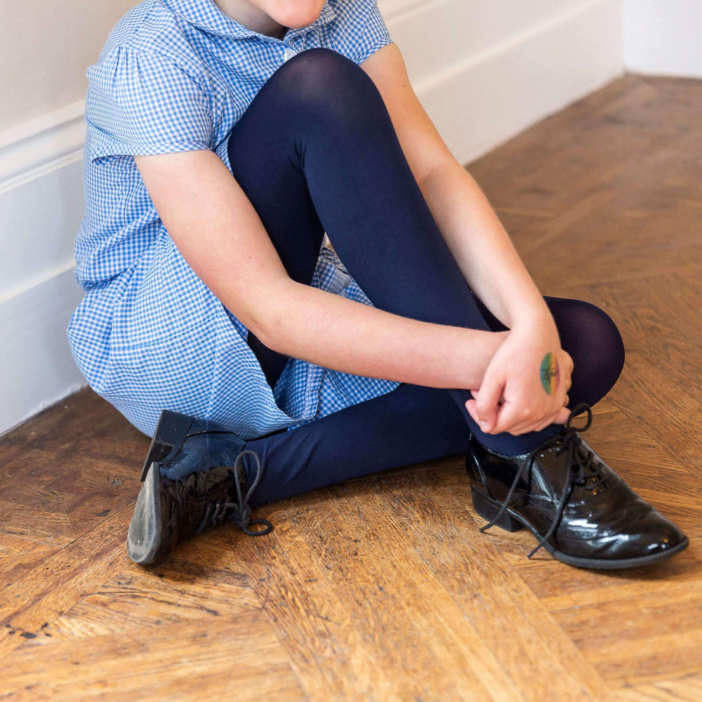 Tights - Kids Tights - Navy