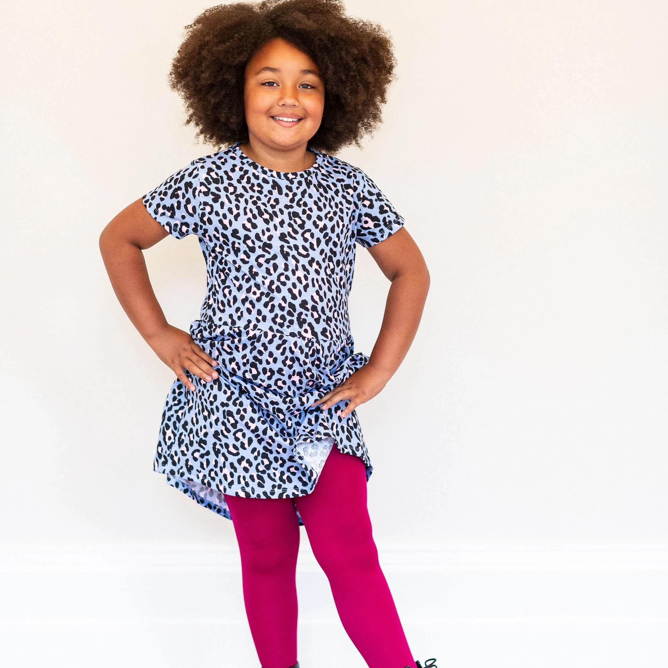 Tights - Kids Tights - Raspberry Pie
