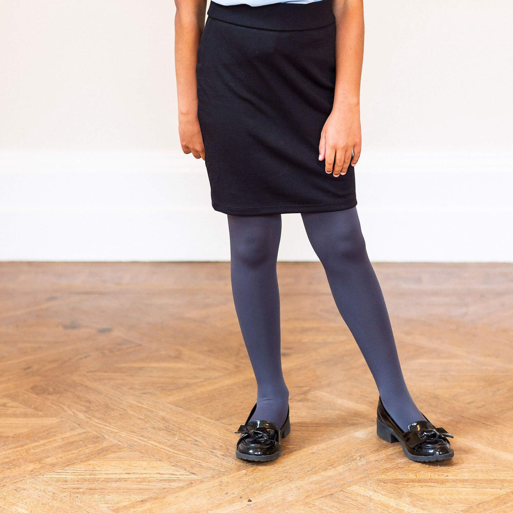Tights - Kids Tights - Slate