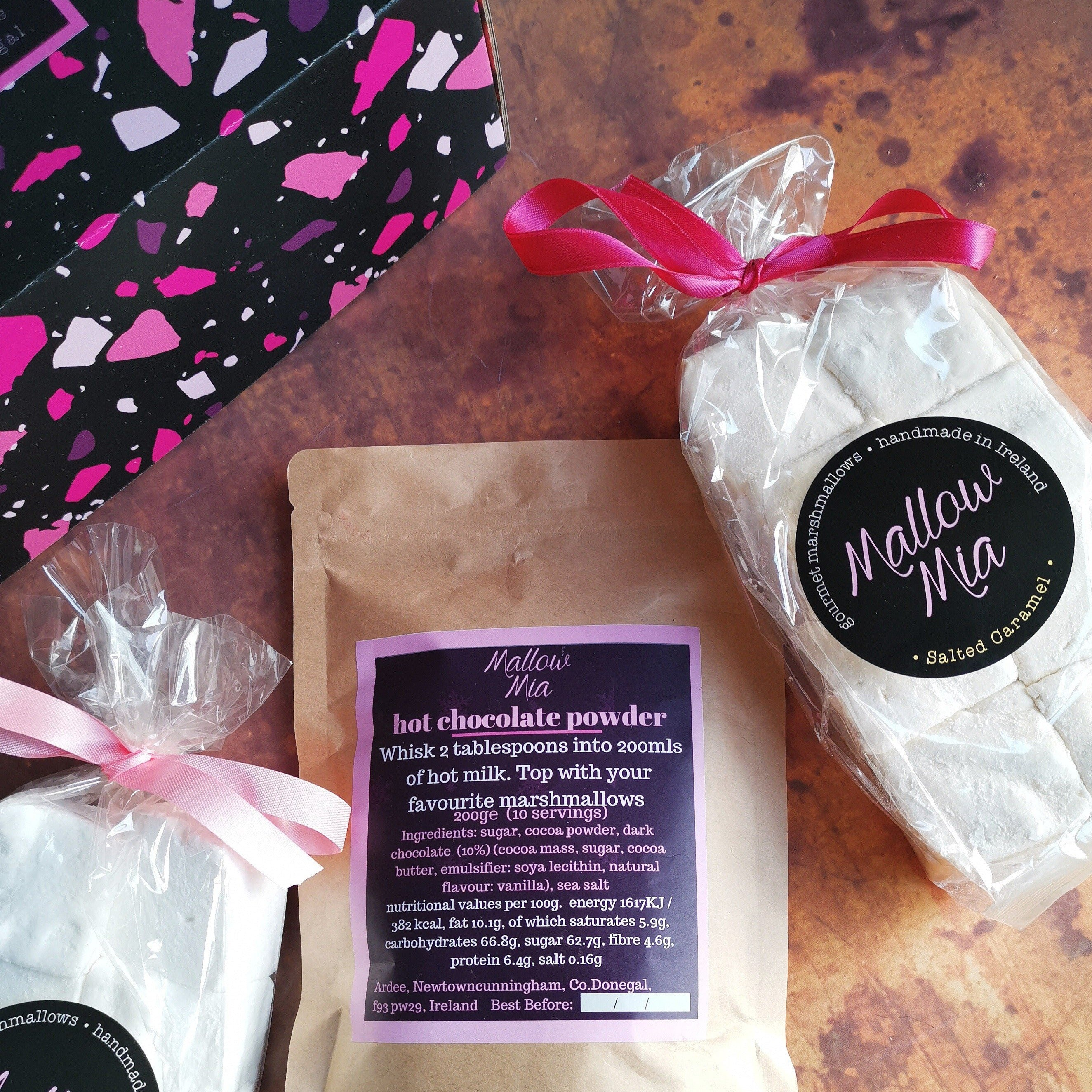 hot chocolate & marshmallow gift box