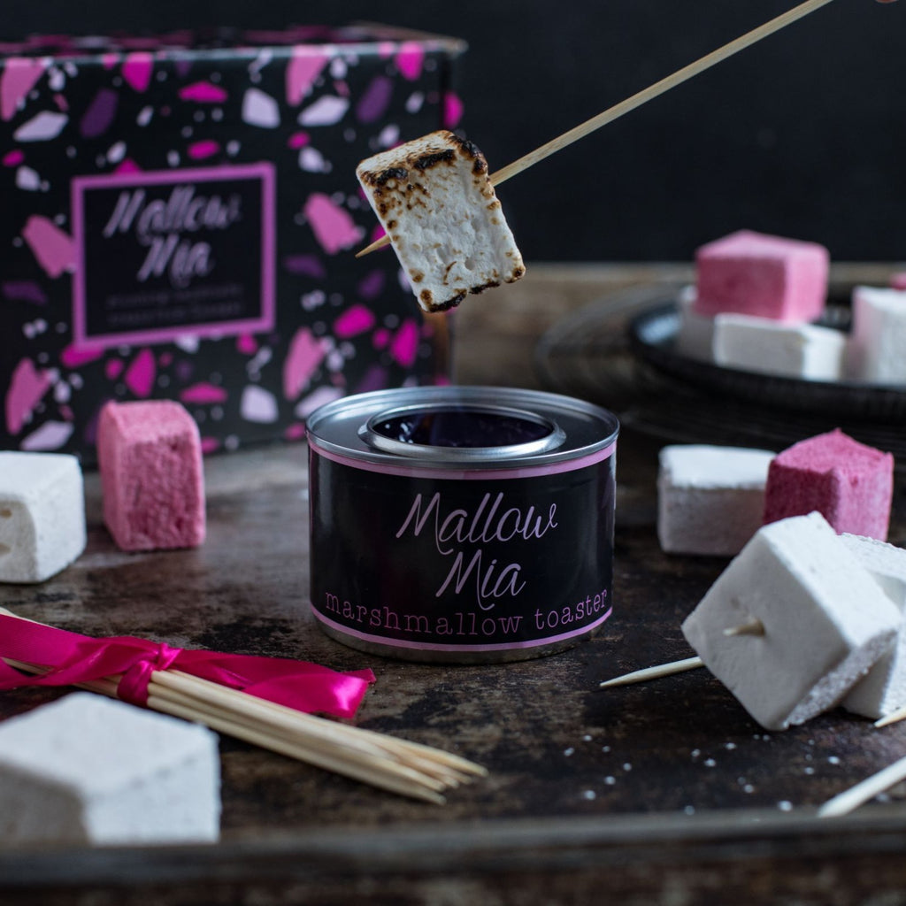 date night sized marshmallow toasting box (with 1 bag of marshmallows)