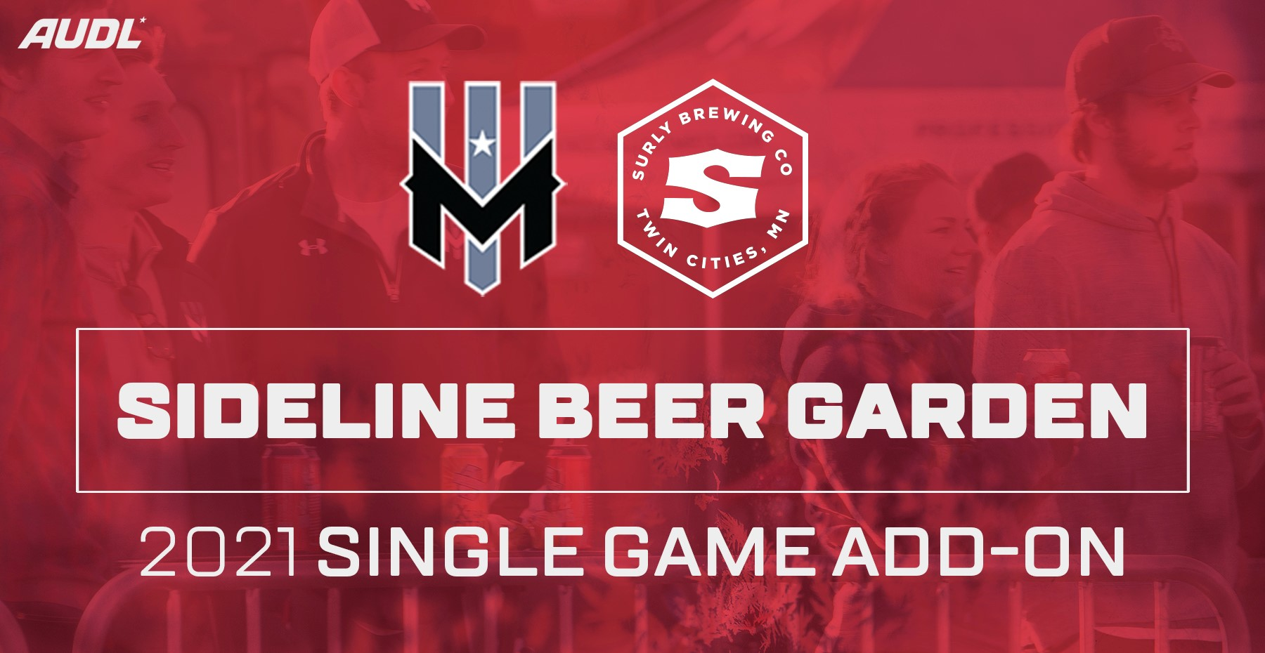 2021 Surly Sideline Beer Garden - Single Game Add-On