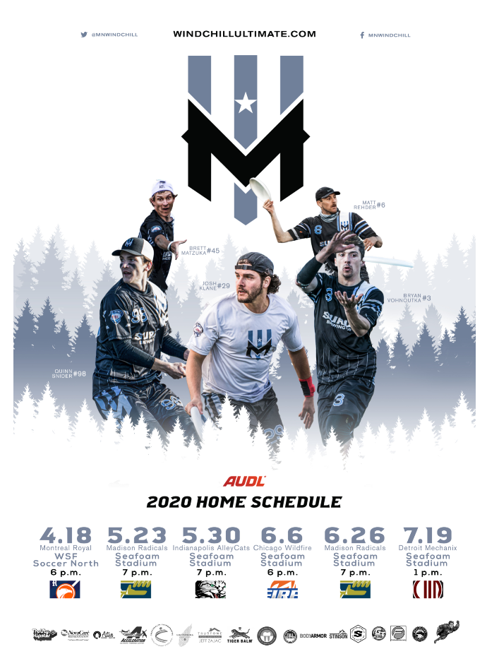"Wind Chill 2020 Official Team Poster (19"" x 27"")"
