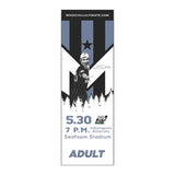Wind Chill Single Game Tickets - 5/30/20 vs. Indianapolis AlleyCats - Will Call