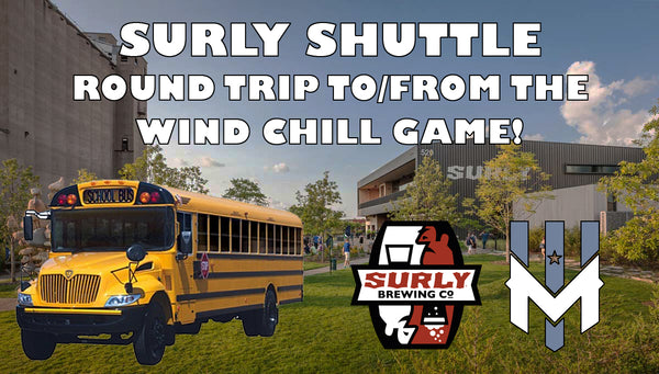 Surly Shuttle - 6/2/18 vs. Indianapolis AlleyCats (SHUTTLE ONLY)