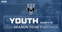 Wind Chill 2020 Season Ticket Package - Youth (Ages 11-18)