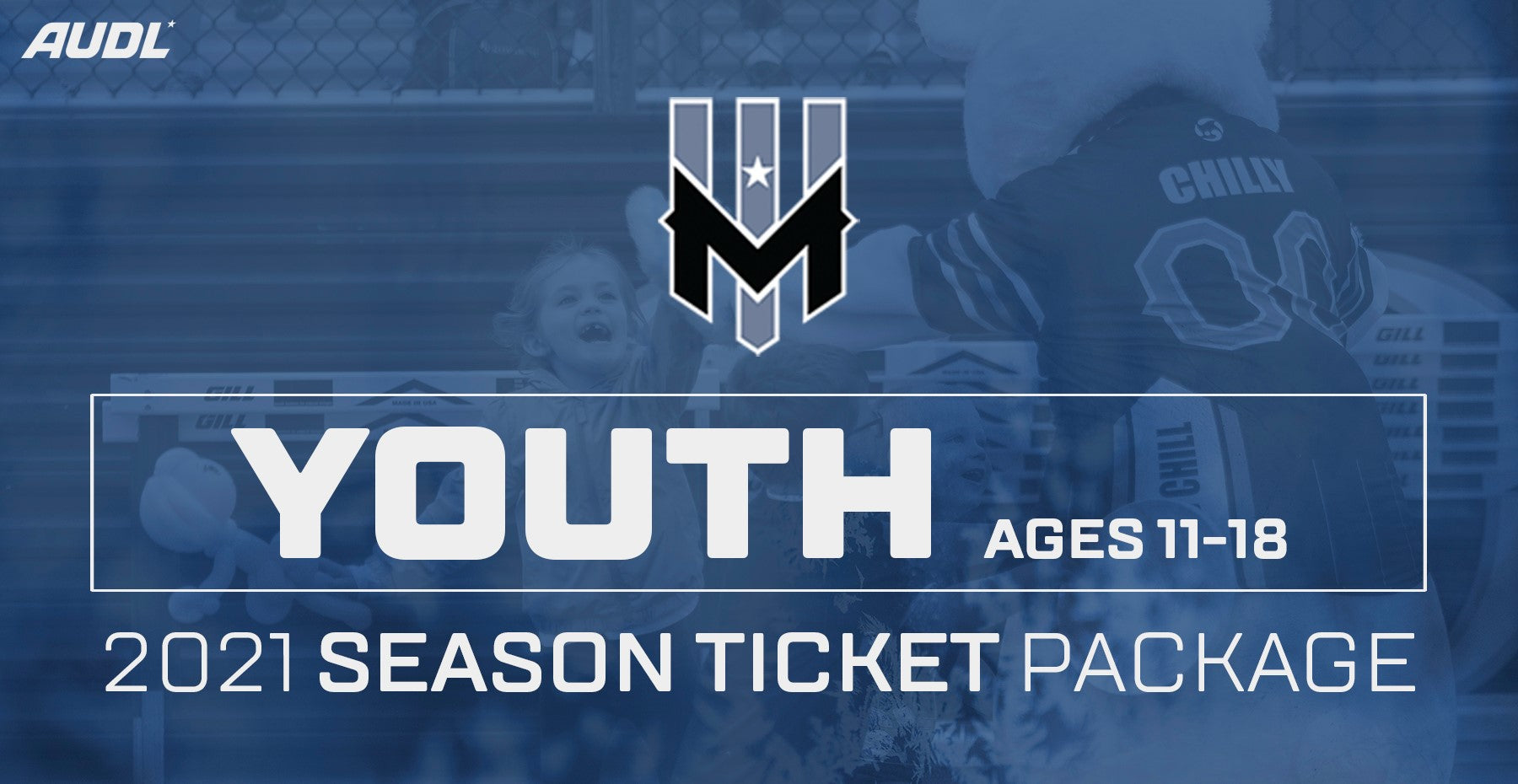 Wind Chill 2021 Season Ticket Package - Youth (Ages 11-18)