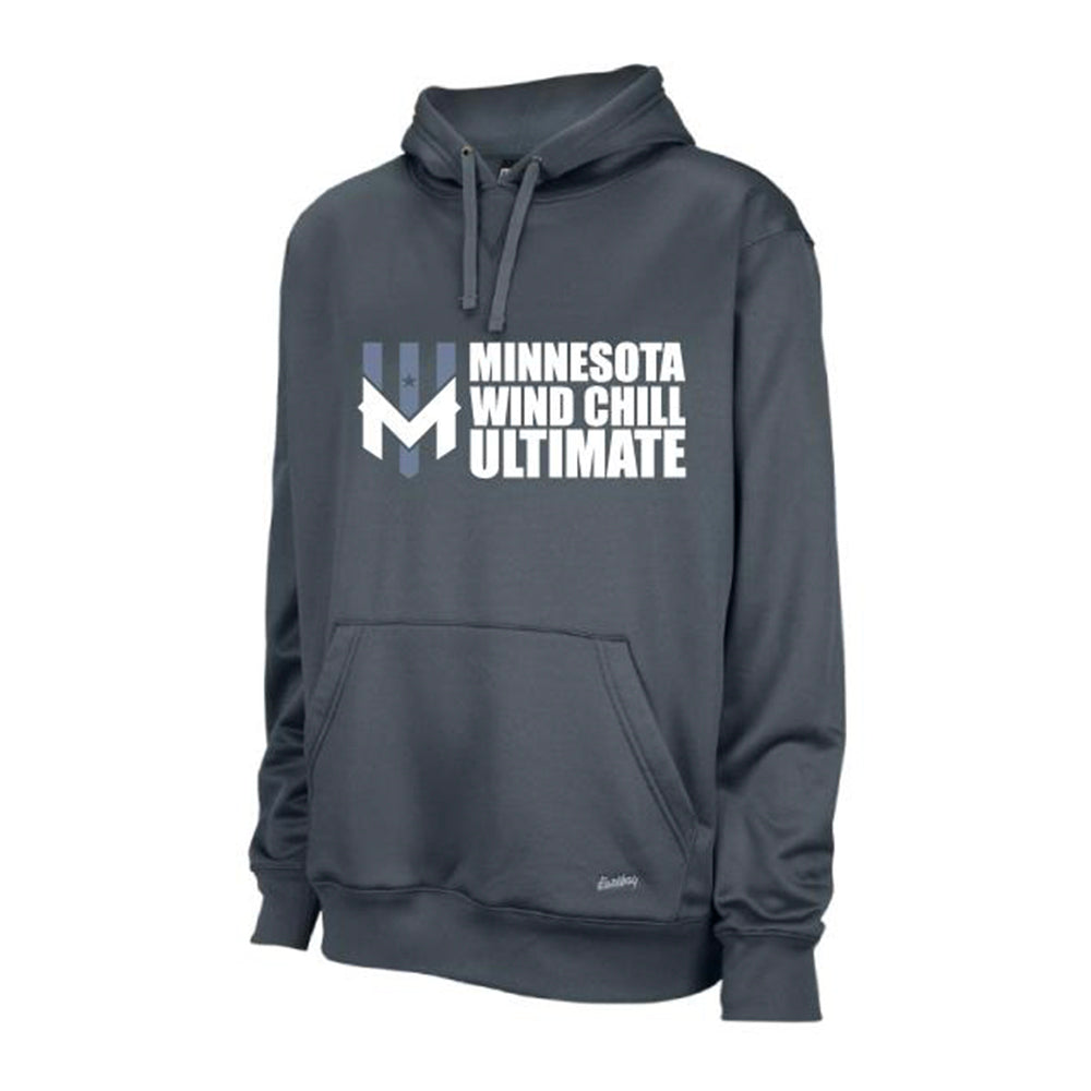 Wind Chill Grey Performance Hoodie 2.0