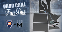 Wind Chill Fan Bus - Round Trip Transportation to Winnipeg - 4/18/20 vs. Montreal Royal