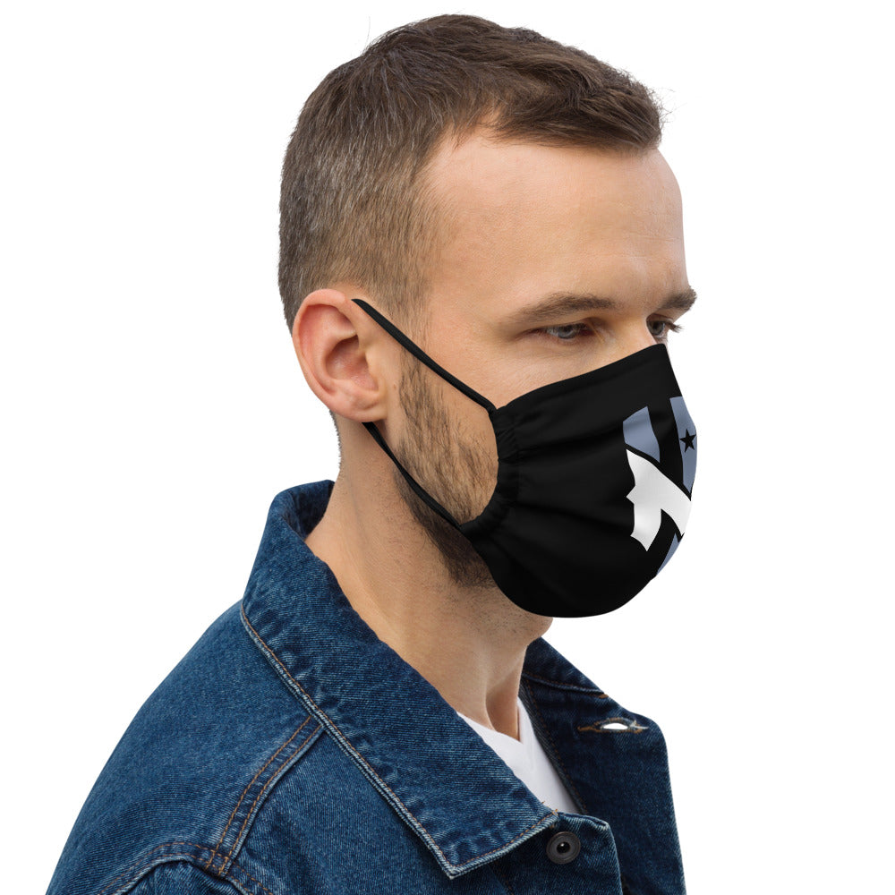 Wind Chill Black Face Mask