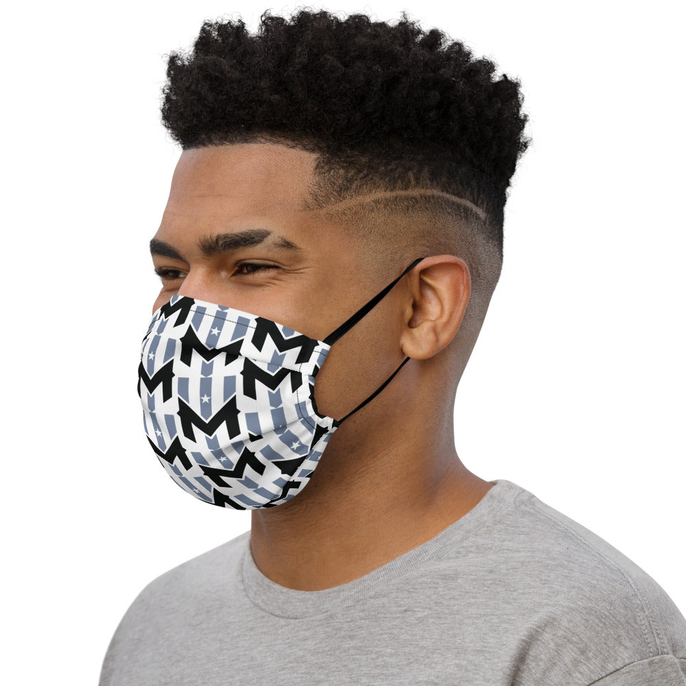 Wind Chill Pattern Face Mask