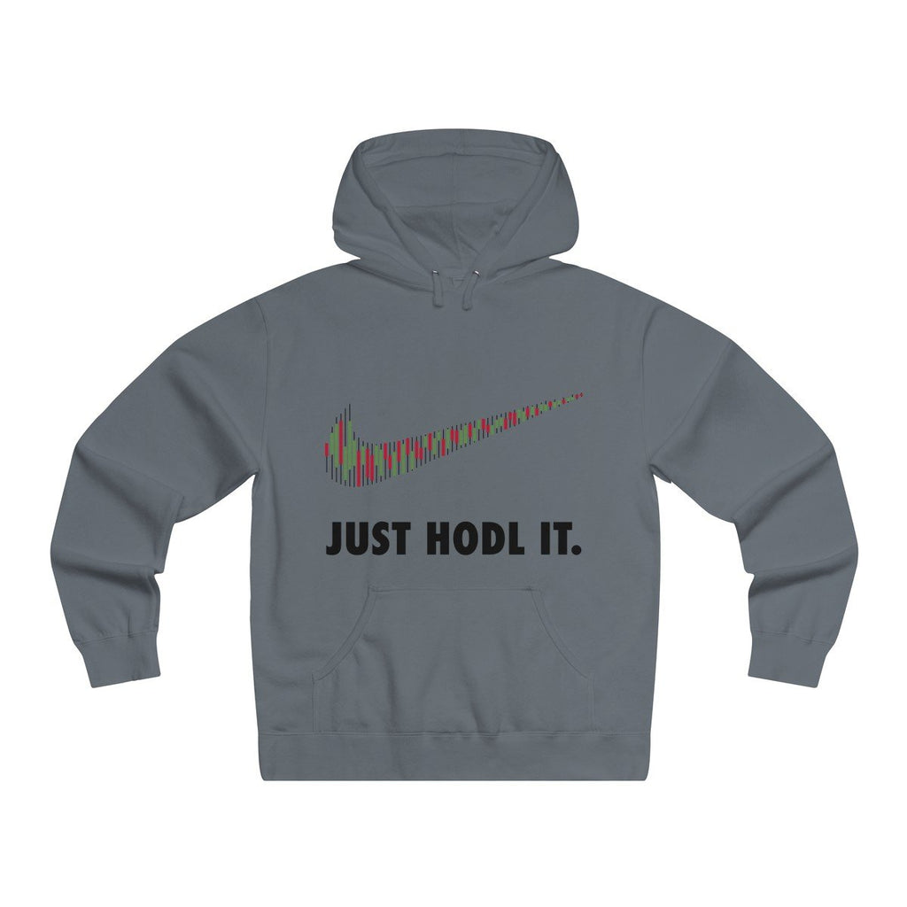 Just HODL It Lightweight Hooded Sweatshirt-Hoodie-DecentralMart