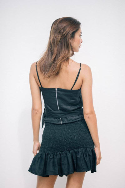 KALILA SKIRT - Black - Kevore