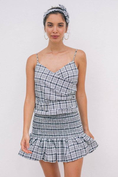 KALILA SKIRT- Plaid - Kevore