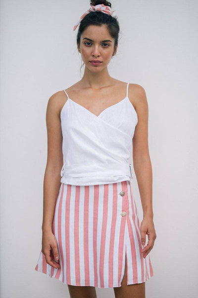 KALILA TOP - White - Kevore