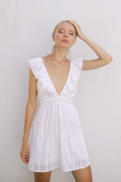 LOLA RUFFLE DRESS - Kevore