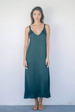 ZINIA MIDI DRESS - Emerald Green - Kevore