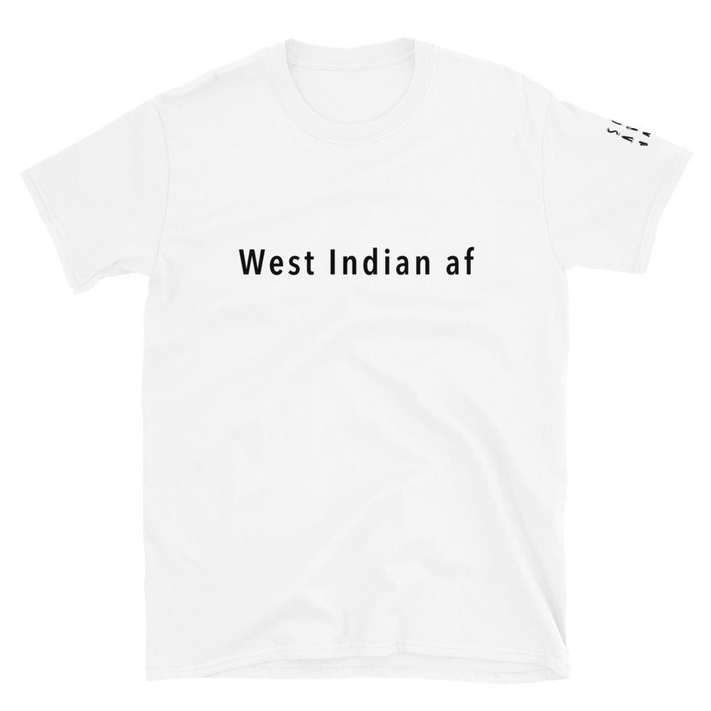WIAF Short-Sleeve Unisex T-Shirt | Black Font
