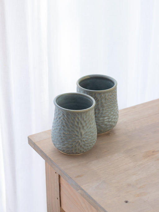 Cold Blue Tumblers (Set Of Two)