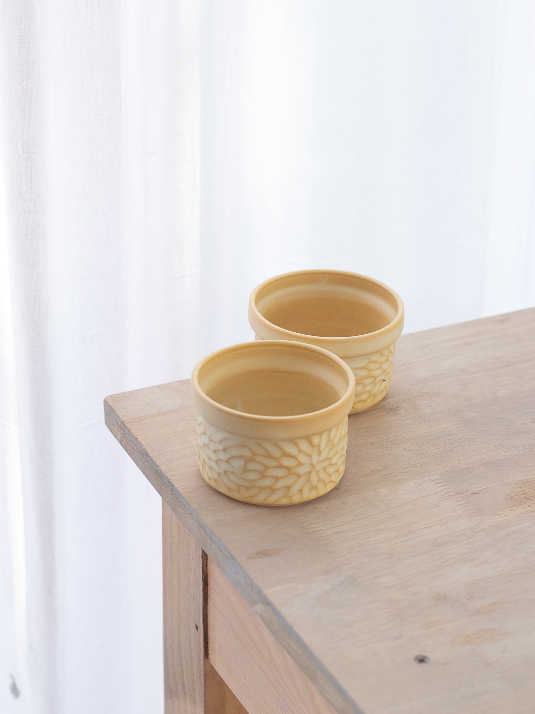 Winter Jasmine Ramekin Bowls (Set Of Two)