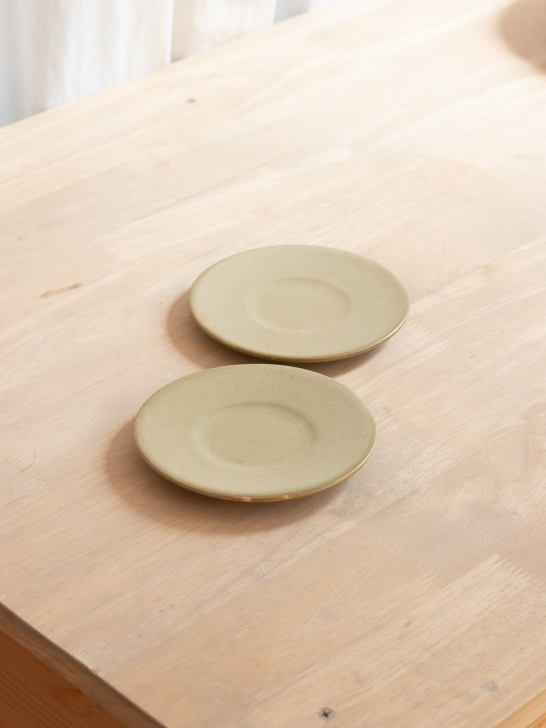 Olive Small Plate - Set Of Two