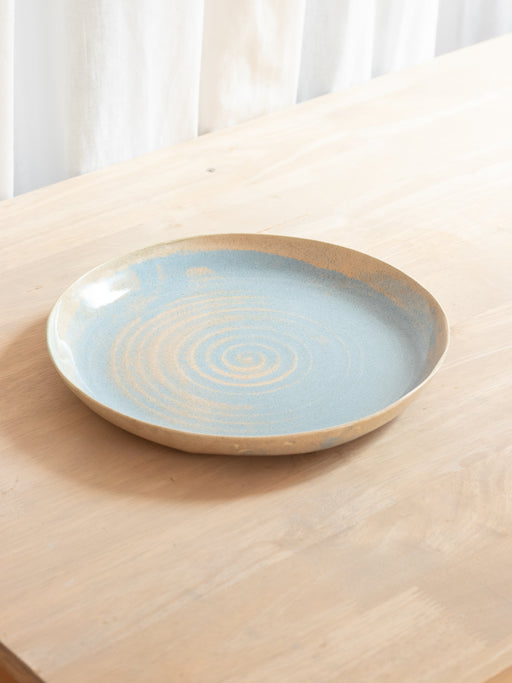 Blue Blush Plate Single