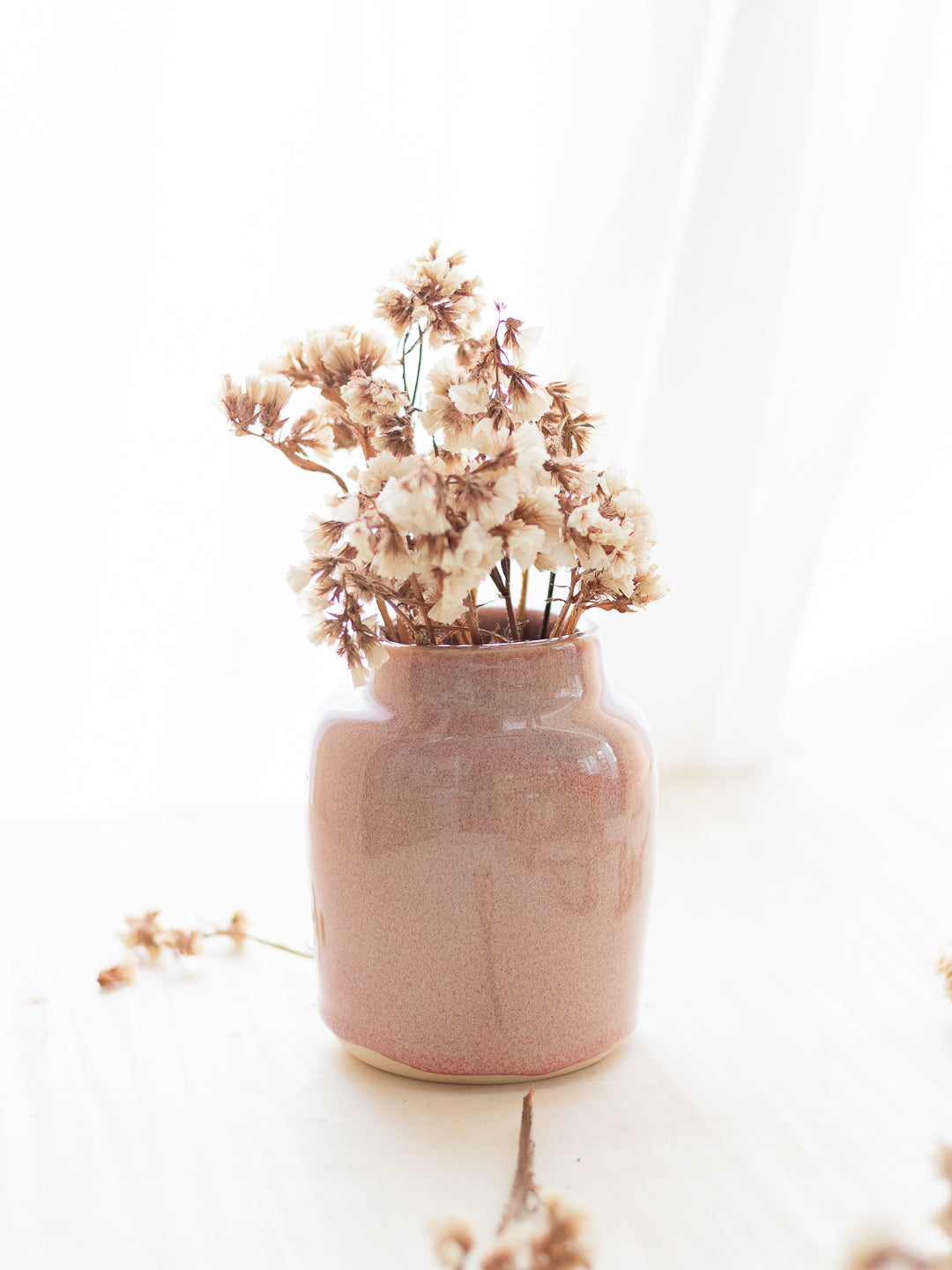 The Pink Stoic Vase