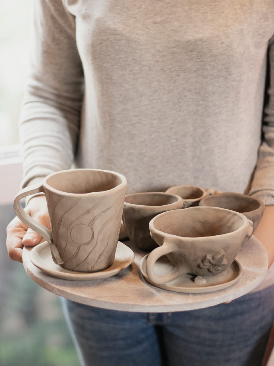 Lockdown Online Clay Jams, Bangalore With Pottery Kit- Cup & Saucer