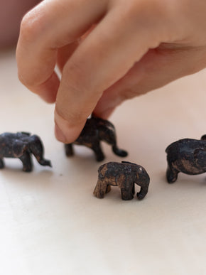 Mini Elephants - Set Of Four