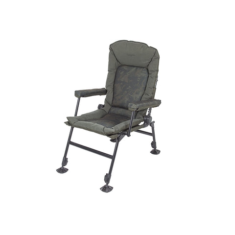 Nash Indulgence Hi Back Camo Chair - The Creel Gloucester