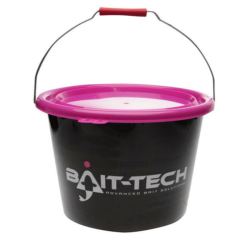 Bait-Tech Groundbait Bucket with Lid - The Creel Gloucester Bait-Tech