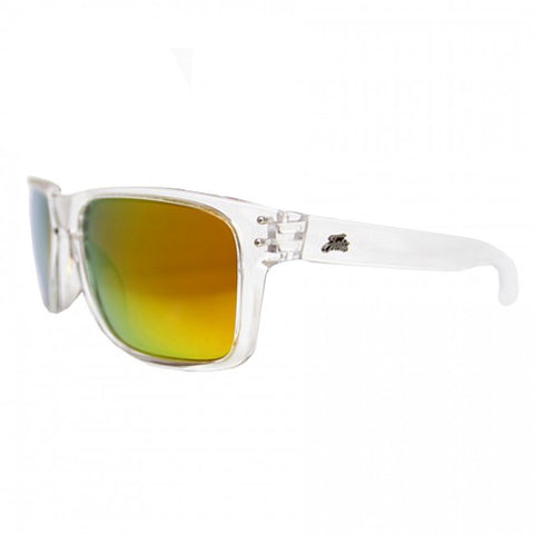 Fortis Bays Clear Frame Polarised Sunglasses - The Creel Gloucester Fortis