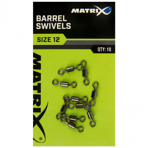 Matrix Barrel Swivels - The Creel Gloucester Matrix