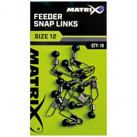 Matrix Feeder Snap Links - The Creel Gloucester Matrix