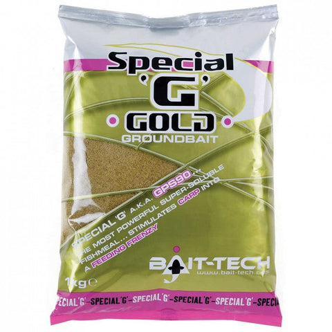 Bait-Tech Special G Gold Groundbait - The Creel Gloucester Bait-Tech